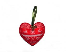 decoratiune-craciun-etno-inima-rosie-brodata