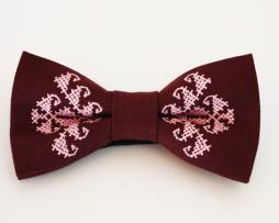papion-brodat-grena-roz