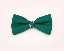 papion-verde-brodat