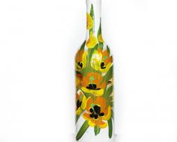 sticla-lalele-galbene-2